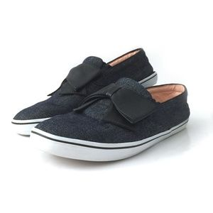 Kate Spade Delise Indigo Denim Bow Sneakers